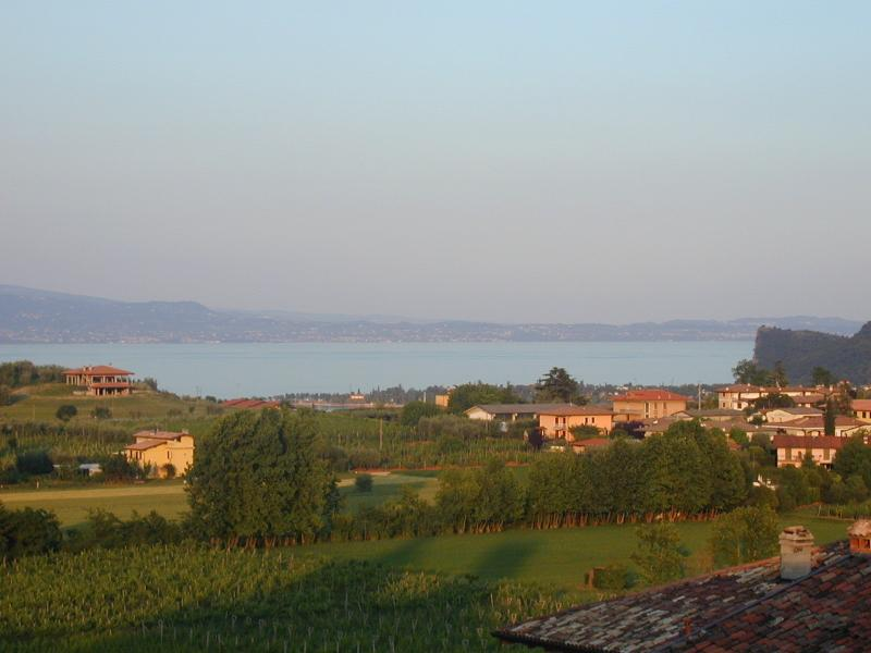 View of Lake Garda from the apartment