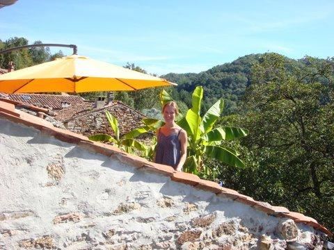 Rural tranquility - private balcony, magical view, holiday rental in Boussenac