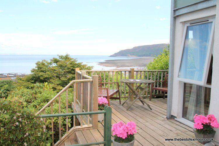 St Anthony's Cottage, Porlock Weir - Sleeps 4 - Exmoor National Park - Sea View, vacation rental in Exmoor National Park