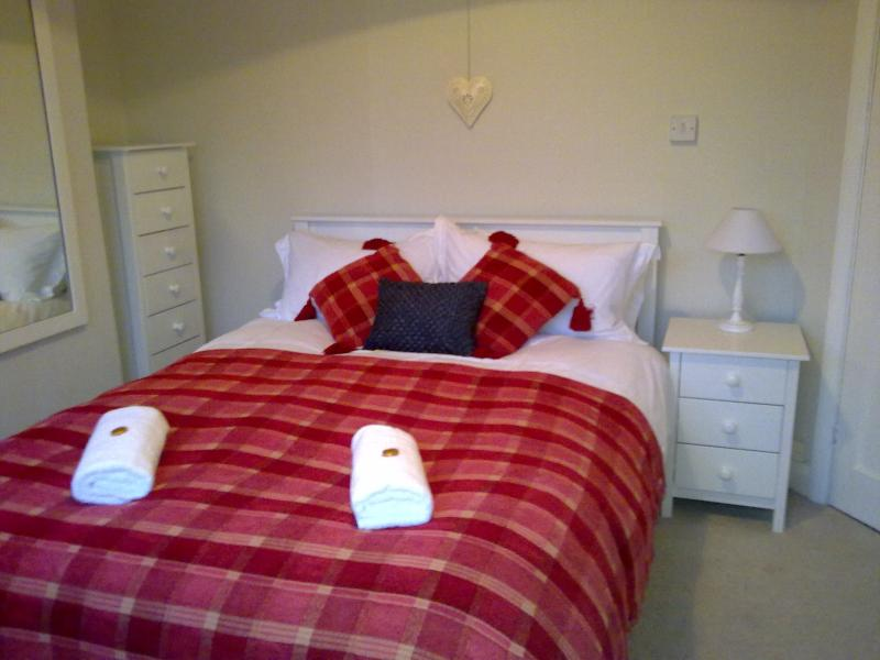 One of the cosy double rooms