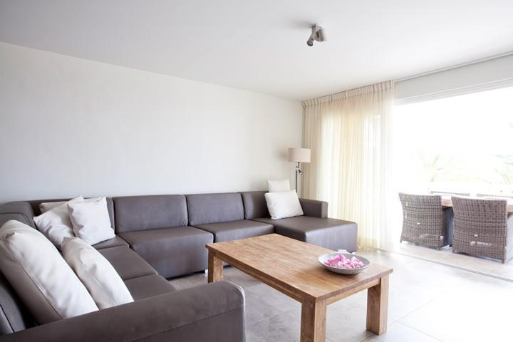 Feel at home in this cosy but spacious living room with flat screen and DVD