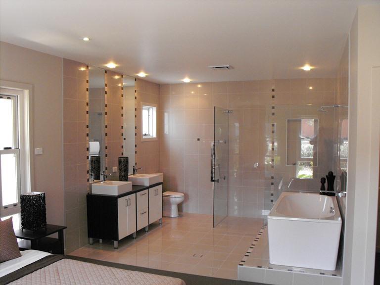 Prive kamer met volledige badkamer