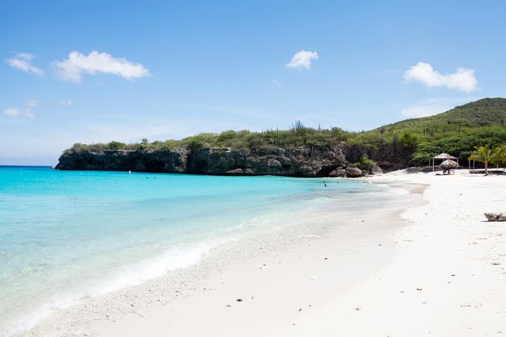 Sun, sandy white beaches, palm trees and the sparkling blue caribbean sea...