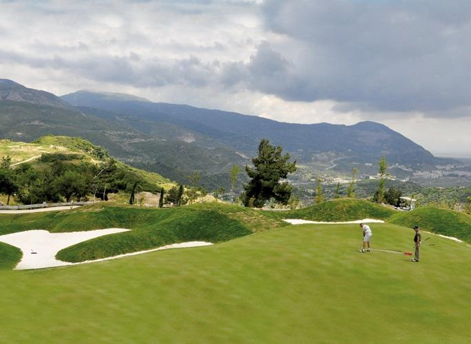 Within 10 minutes drive you'll find this fantastic 18-holes golf course