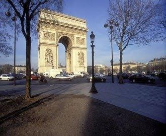 The magnificent Arc de Triomphe
