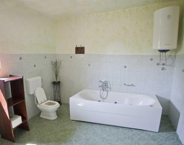 bathroom with jacuzzi...