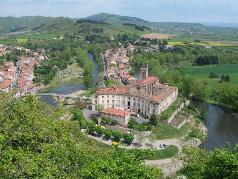 Vue de Lavoute-Chilhac