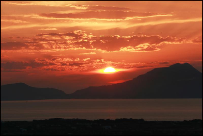 Sunset in June 4
