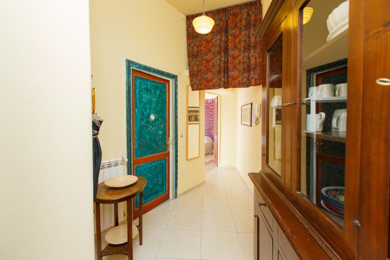 The little corridor at the entrance