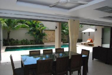 Open plan tropical living