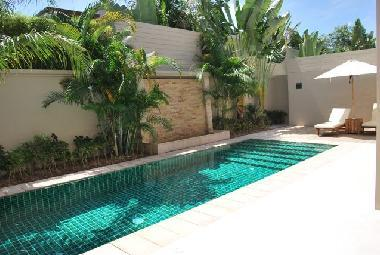 Cool and inviting swimming pool