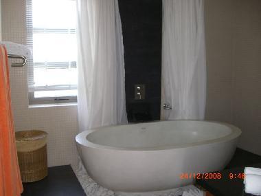 Maître luxueuse salle de bains