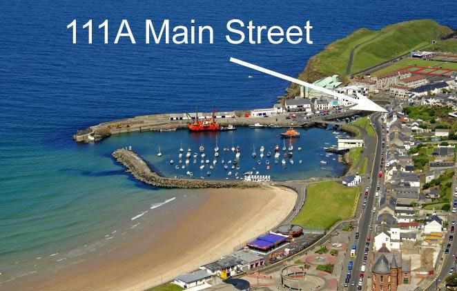 The apartment is located close to the harbour with sea views towards the inner harbour.