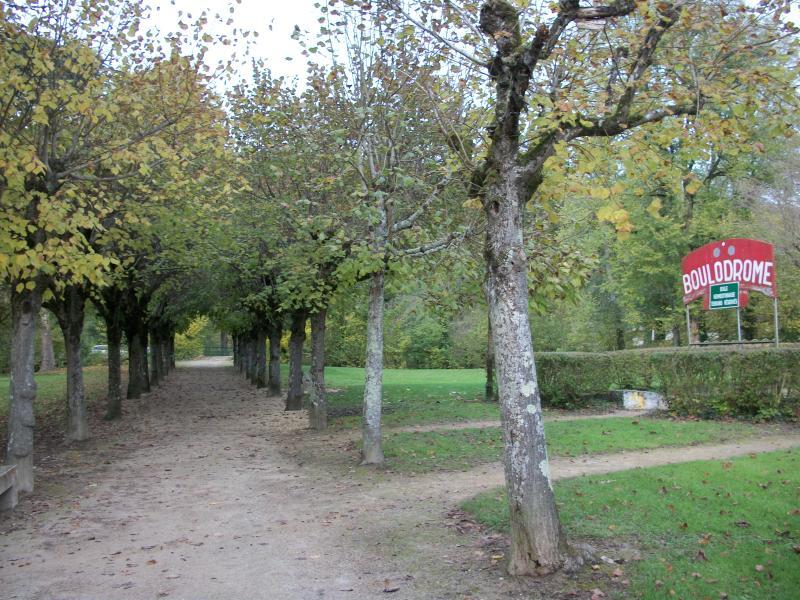 Pétanque - in het Parc des Iles