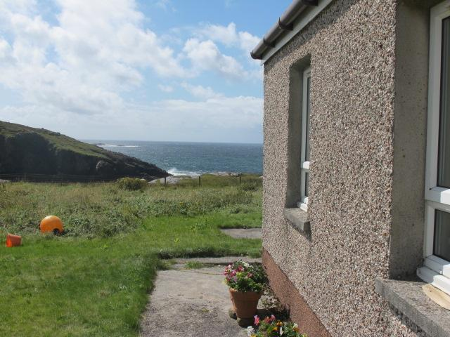 View from the back door looking out to the Atlantic