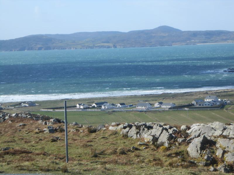 View of the Lough Swilly from Mamore Gap