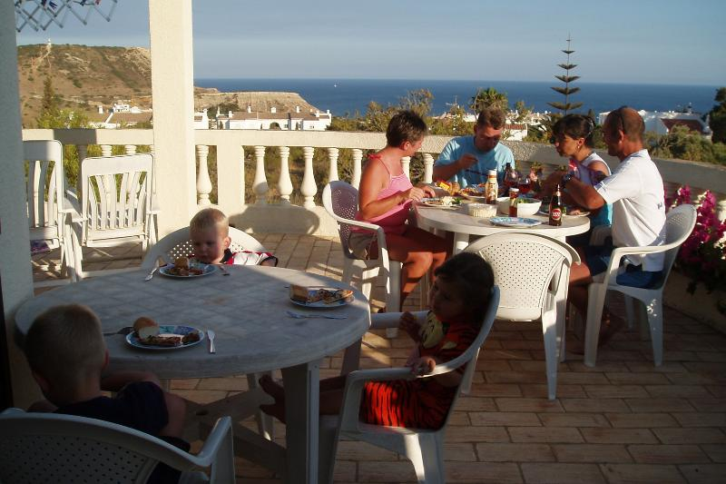 Al Fresco Dining with Sea Views