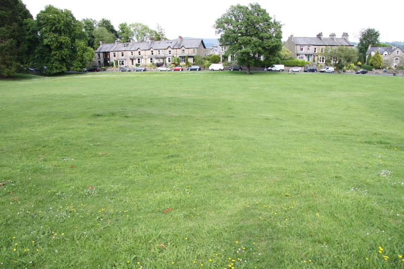 On your doorstep, the lovely Kendal Green