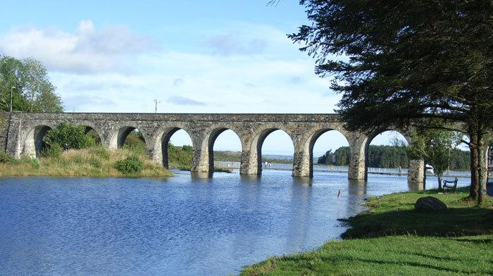 The Twelve Arch Bridge in Ballydehob