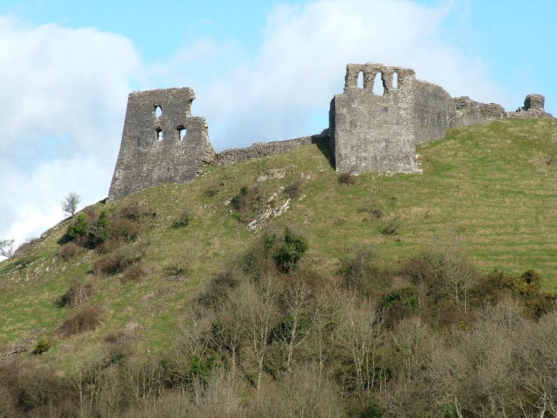 Dryslwyn Castle, 10 minutes' drive for Golden Grove Cottages