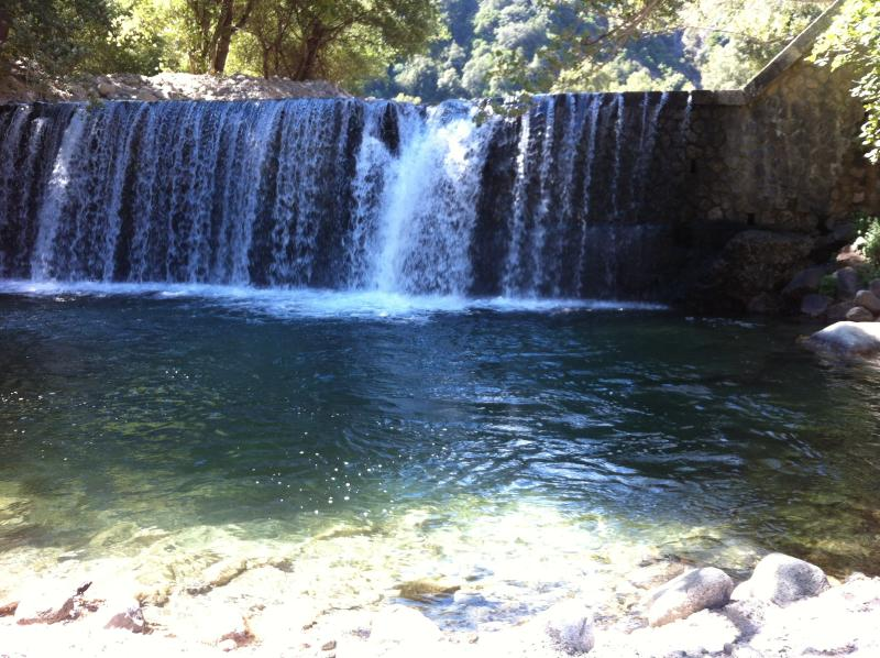 Waterfall nearby
