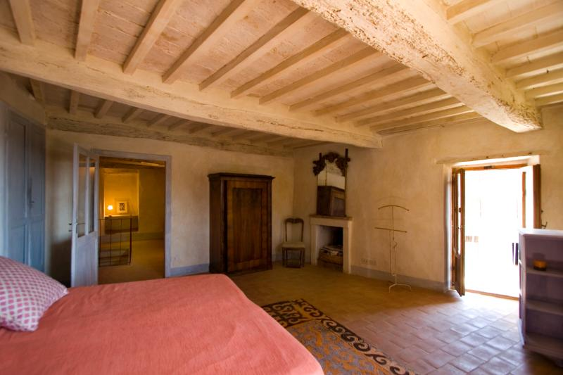 Bedroom, second level, with balcony