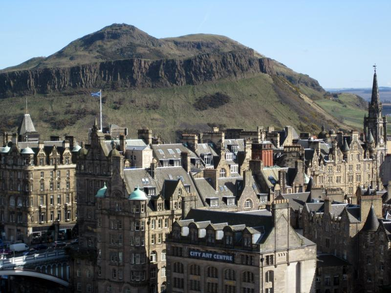 Climb Arthur's Seat and take the binoculars from the apartment for a great view from the top.