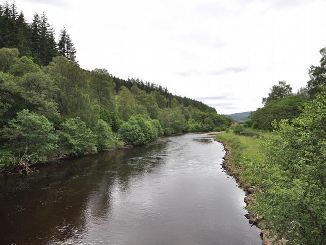 El cercano río Cannich