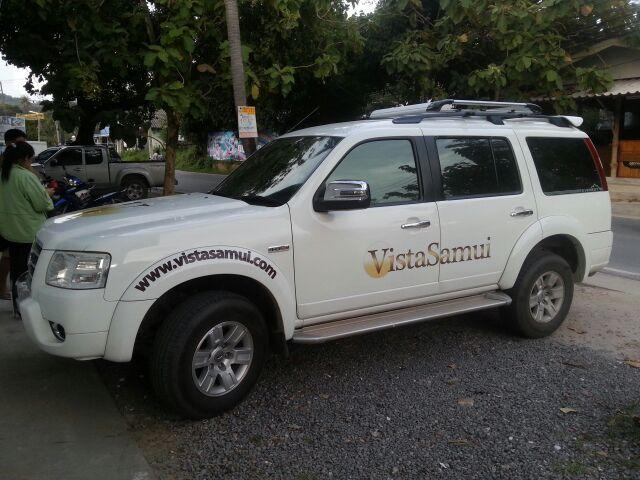 The new VistaSamui car - Nov 2013
