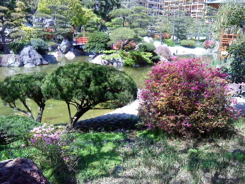 Japanese Garden - 10 min walk from apartment