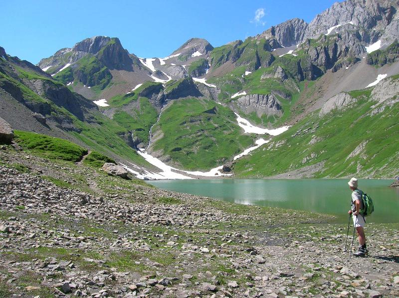 The magical Lac du Volgelle - an easy day hike from the chalet