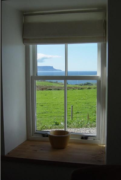 The Old Croft House - View from Kitchen Window