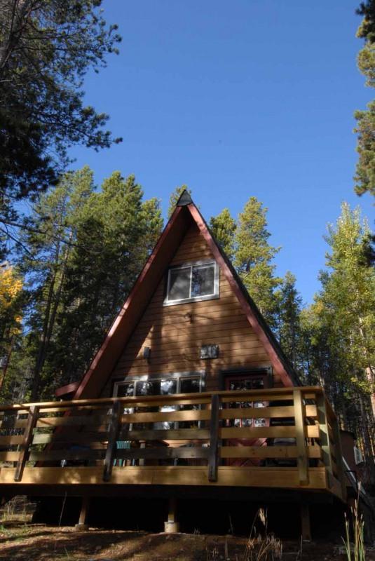 Een wildernis vakantie huis