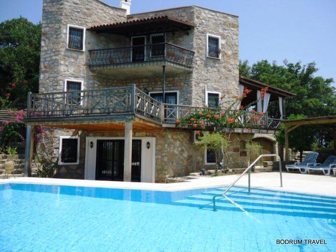 Bodrum Bitez 6 Bedroom Villa 304, aluguéis de temporada em Konacik