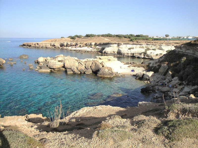 Unspoilt coastline in Kapparis
