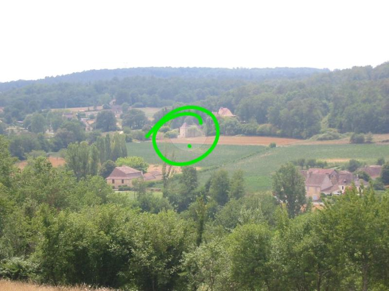 tranquil setting- view of house from chateau
