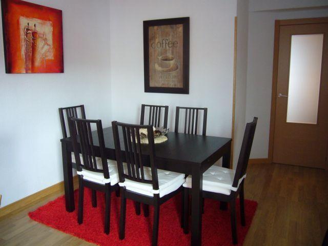 Comedor moderno, 6 sillas