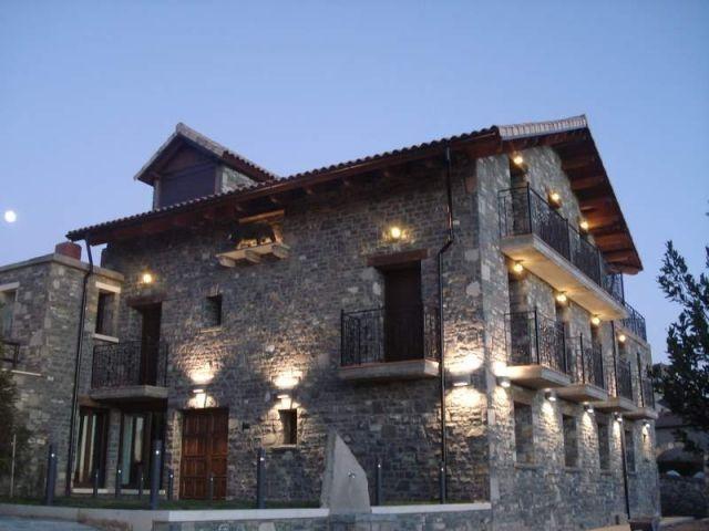 Hauptfassade des Hauses