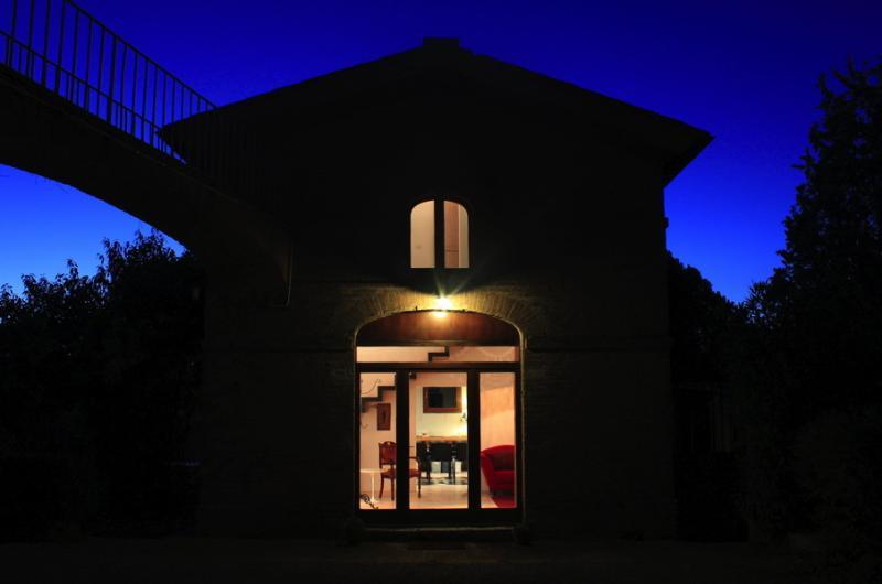 Night exterior