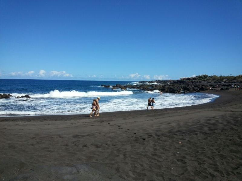 Playa de La Arena en Buenavista