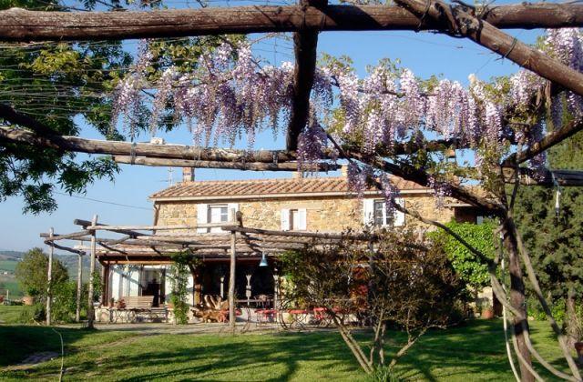 Antico casale con piscina alle Terme di Saturnia, vacation rental in Catabbio