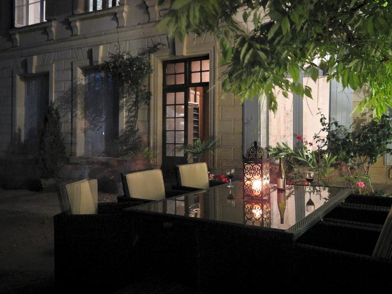 The Terrace at La Grande Maison