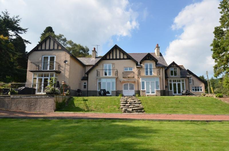 Exterior of Westcliffe House, a stunning property set in 2.5 acres of private grounds.
