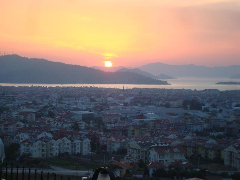 Coucher de soleil sur Fethiye