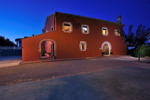 Masia Casa Roja, vacation rental in L'Arboc
