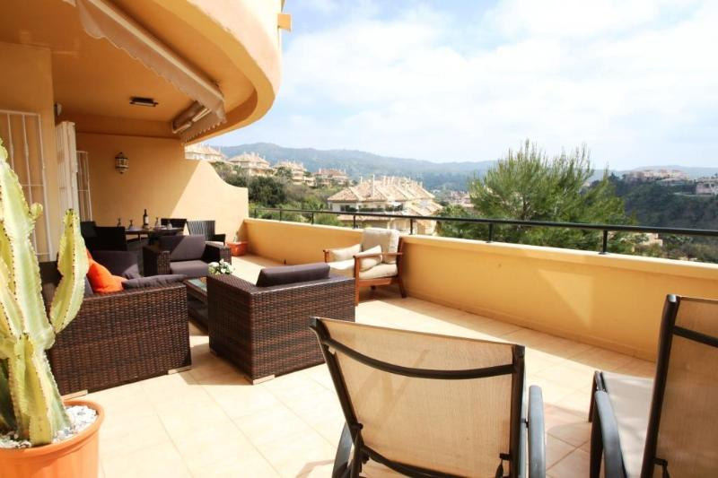 The property has an Extensive Terrace with exquisite views * multiple seating / dining & loungers