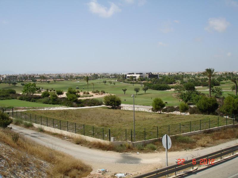 Roda Golf course - as seen from the bridge