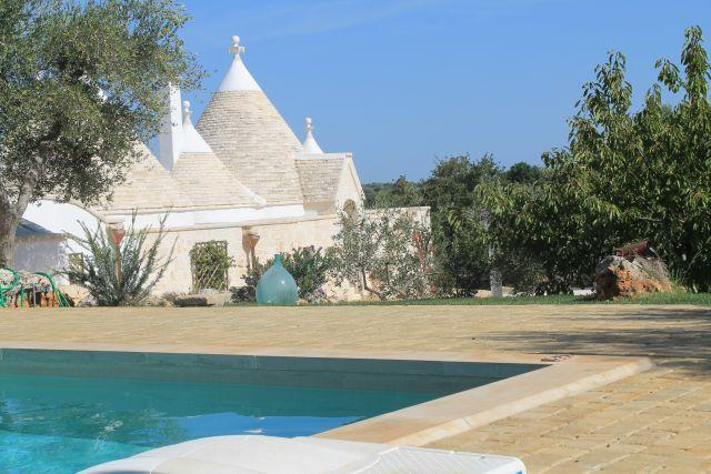 Panoramic view of I Trulli di Cristoforo