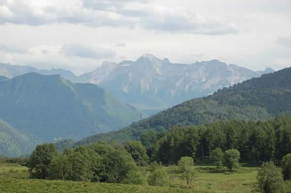 In the Pyrenees - experience the Foret d'Iraty ( 40 minutes away) for walks or cycling etc;