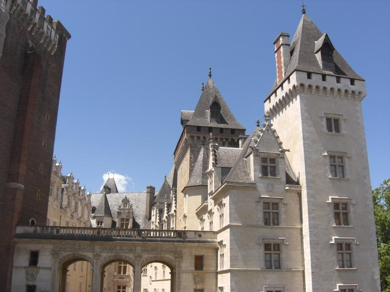 The Chateau at Pau - home of the kIngs of Navarre- City of Pau (45 minutes East of the house)